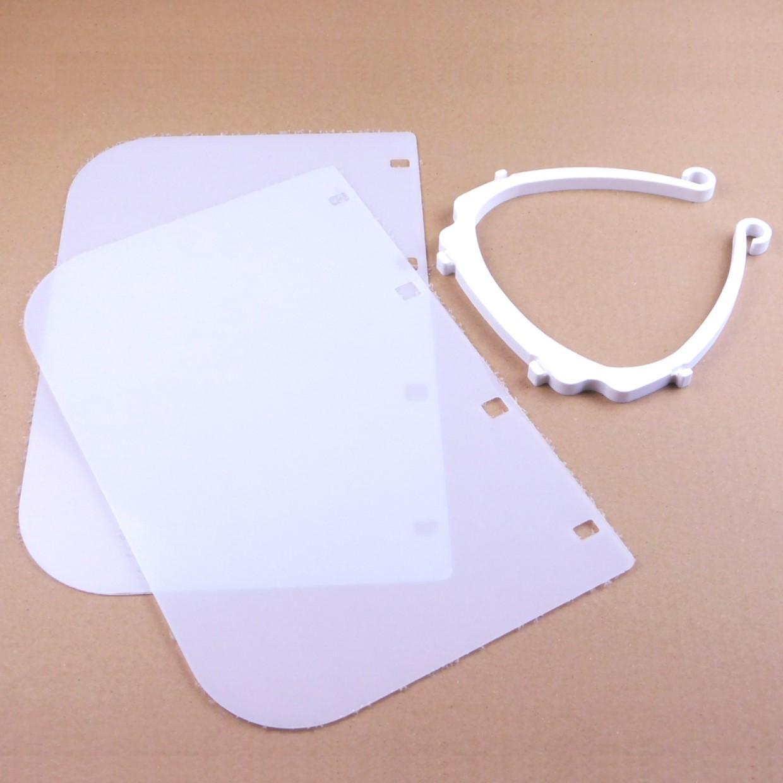 Ecran facial visiere de protection 2008