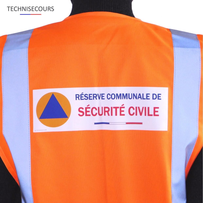 Gilet reserve communale de securite civile 2003